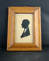 Antique Birds eye Maple frame with Edwardian silhouette