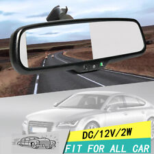 """4.3"""" TFT LCD Display Monitor Rearview Mirror Auto Car DVD A9"""