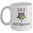 Order of the Eastern Star symbol mug - OES Sisterhood Masonic Prince Hall gift