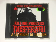 Killing process-CD-Nosferatu-a Symphony of Horror-DOUBLE Dead media