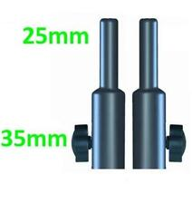 2 x 35 mm to 25 mm Top Speaker Stand Top Hat Adaptor Adapter  suitable dB ES503