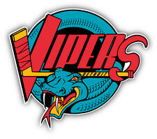 Detroit Vipers Hockey Logo Car Bumper Sticker Decal 5'' x 4''