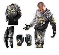 "METAL MULISHA Volt Pants 34"" Jersey L Gloves M Motorbike MX BMX Gear Clothing"
