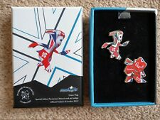 London 2012 London Paralympics 2012 Wenlock Metal Lapel Pin