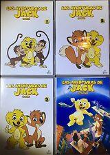 LAS AVENTURAS DE JACK - LA SERIE Y LA PELICULA 4 DVD'S Nuevo