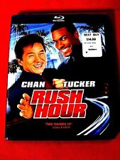 Rush Hour NEW Blu-ray Jackie Chan Chris Tucker Tom Wilkinson Chris Penn Tzi Ma