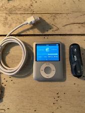 Apple iPod nano 3rd Gen Silver (4GB) Used Bundle PLUS BONUS GIFT FOR BIN PRICE