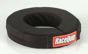 Racequip Black Neck Brace Helmet Support 360 Collar 333003 Go Kart IMCA USRA UMP