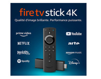 Amazon Fire TV Stick 4K Ultra HD avec télécommande vocale Alexa Neuf