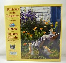 "Kittens in the Country SunsOut Puzzle - 1000 Pieces 20"" x 27"" New"