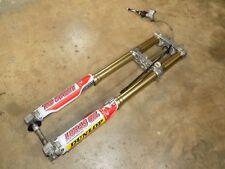 SPRING FORKS, Front Suspension, Triple Clamps Brake, Honda CRF250R CRF450R  2008