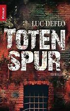 Totenspur: Thriller von Luc Deflo   Buch   Zustand sehr gut
