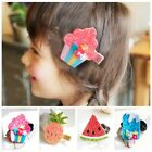 Cartoon Ice Cream Hair Clips Fruit Hairpins Hair Accessories For Kids Baby Girl
