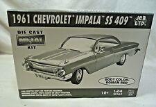 JEB 1961 Chevy Impala SS 409 Roman Red Metal Pre-Painted Body Model Kit