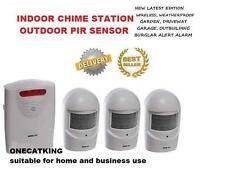 A9 3pir1ch Wireless Weatherproof jardín, Calzada, garaje, ladrón o visitante Alarma