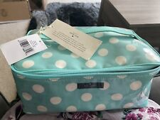 Kate Spade Daycation Large Colin Cosmetic Travel Case Makeup Bag Tote Polka Dot