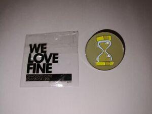 My Little Pony We Love Fine Dr Hooves pin badge Mighty Fine metal & enamel 13+