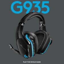 Logitech G935 Kabelloses Gaming-Kopfhörer 7.1 Surround Sound, LYGHTSYNC RGB,
