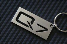 For Audi Q7 keyring Schlüsselring porte-clés keychain TDI QUATTRO SLINE 3.0 SE