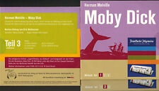 Herman Melville Moby Dick, Hörbuch v Dirk Walbrecker 3 Audio-CD FAS Edition 2005