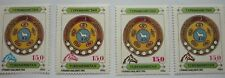 Turkmenistan Lot 4 Werte Pferdekopfaufdruck  postfrisch 1992
