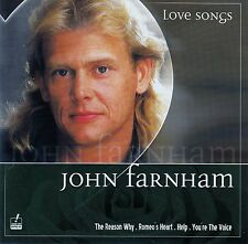 JOHN FARNHAM : LOVE SONGS / CD - TOP-ZUSTAND