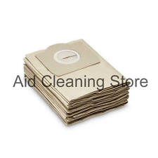 5x SHOPVAC Classic Vacuum Cleaner Dust Bags Canister Hoover ZR-80 20 30 Pro AB27