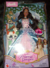 HTF AA Erika Princess and the Pauper Singing Barbie