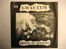 "3 WAY CUM ""BATTLE OF OPINIONS"" - 7"" SINGLE"