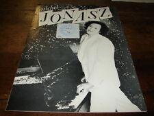 MICHEL JONASZ - RARE BIOGRAPHIE PROMO 1981 !!!!!!!!!!!!
