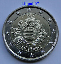 België 2 euro 10 jaar Euro 2012 UNC