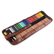 6 in 1 Marco Renoir Fine Art 48 Color Water Color Pencils Set/Tin Case+Sharpener