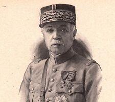 Portrait Maréchal Marie Émile Fayolle Le Puy en Velay Première Guerre Mondiale