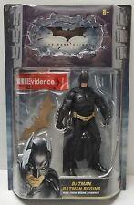 """BATMAN BEGINS Mattel Movie Masters Batman Dark Knight 6"""" Figure NIP"""