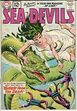 Sea Devils (1961 Series) #3 February 1962 DC VG- 3.5