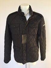 Trapunta Field Jacket uomo MILESTONE, mod Gentleman 10039, nera.