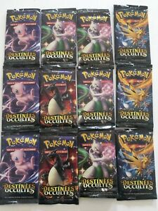 12 parquets carte Pokemon destinée occultes