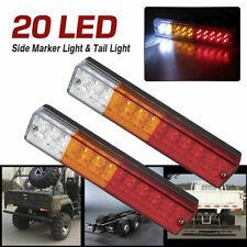 2X LED Tail Lights Car Truck Trailer Stop Rear Reverse Turn Indicator Lamp LigRR