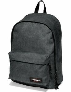 Eastpak Schulrucksack Rucksack Schwarz OUT OF OFFICE Notebookfach Black Denim