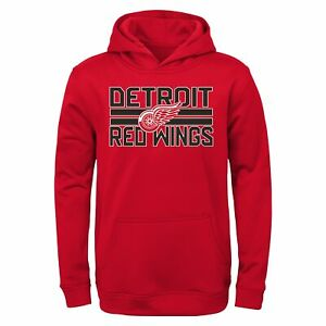 Outerstuff NHL Youth Boy (4-20) Detroit Red Wings Classic Fleece Pullover Hoodie
