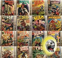Variety Grab Of Comics Lot(Golden To Modern Age )(#1s)(key Issues).