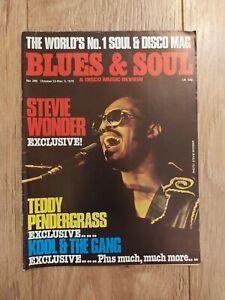 BLUES & SOUL MAGAZINE # 289 OCTOBER 1979 STEVIE WONDER TEDDY PENDERGRASS KOOL