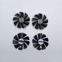 Für Sapphire RX470 RX480 RX570 RX580 RX590 GPU Lüfter Cooler Grafikkarten Lüfter