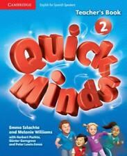 Quick Minds Level 2 Teacher's Book Spanish Edition, Szlachta, Emma, Williams, Me