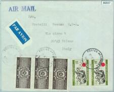 86937 - AFGHANISTAN - POSTAL HISTORY -  COVER to ITALY 1977 Athletics OLYMPICS