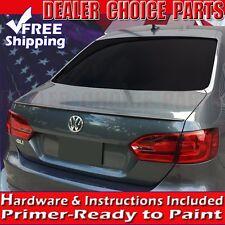 2011-2017 Volkswagen JETTA OEM Factory Style Spoiler Lip Wing Fin UNPAINTED ABS