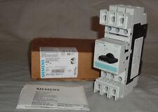 *NEW* Siemens 3RV18214BD10 Circuit Breaker 3RV1821-4BD10 20A 3 Pole