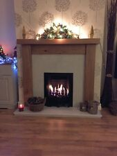 OAK  BEAM FIRE SURROUND ( Solid English Oak) Made To Measure Or Standard