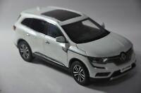 Renault Koleos car car model in scale 1:18 white