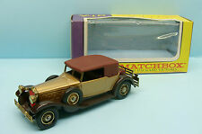 10788 MATCHBOX / ENGLAND / MODELS OF YESTERDAY Y15 PACKARD VICTORIA 1930 1/46
